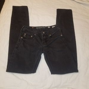 Black Miss Me skinny jeans
